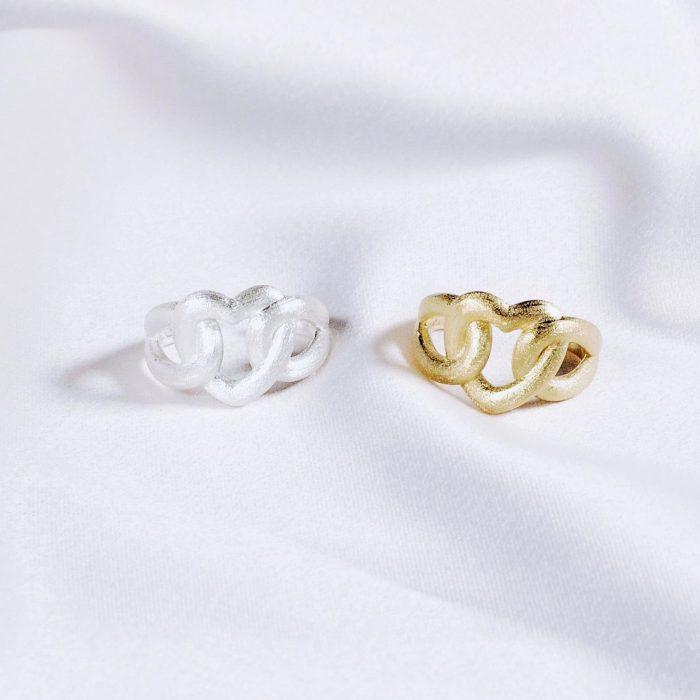 A.Brash - Adjustable ring - Heart ring