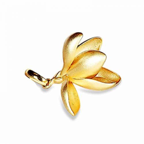 A.Brask - Snowdrop pendant - gilded pendant