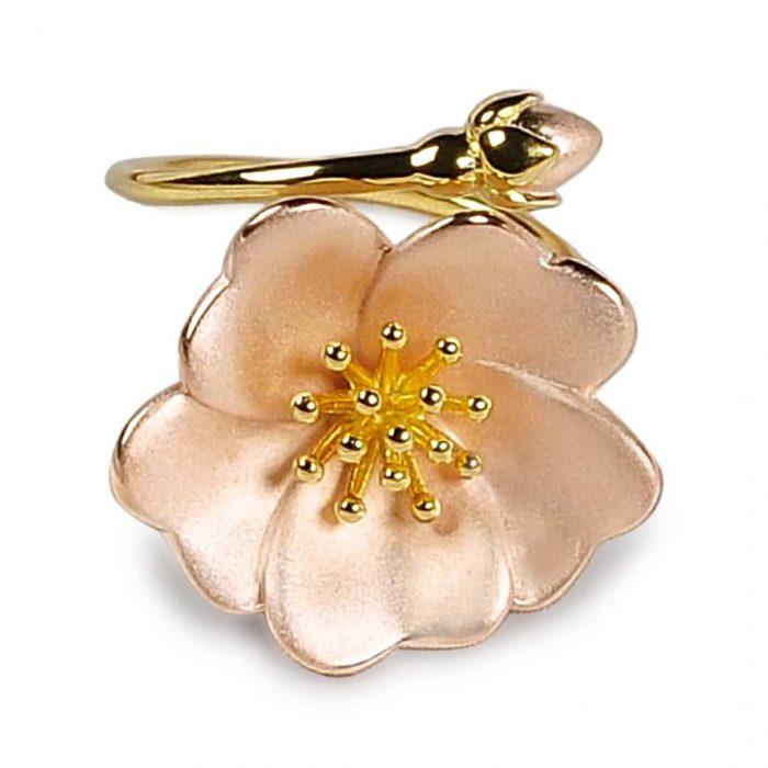 A.Brash - Wild rose adjustable ring - Jewelry