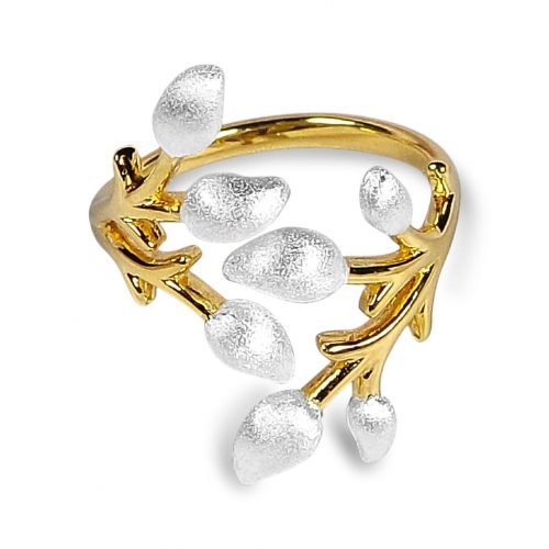 A.Brash - Flowering branch adjustable ring - Ring