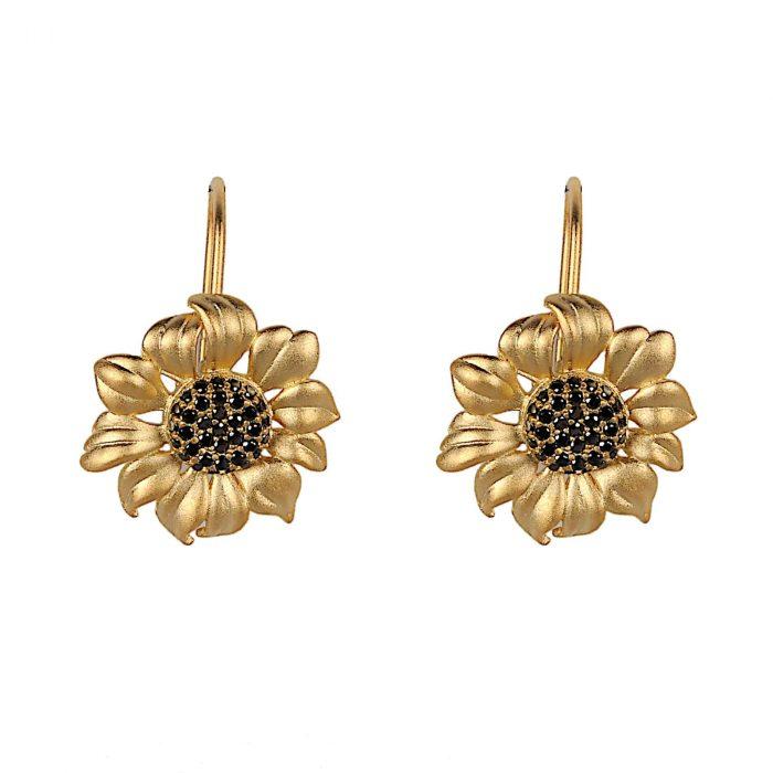 A.Brask - Sunflower earrings - Earring