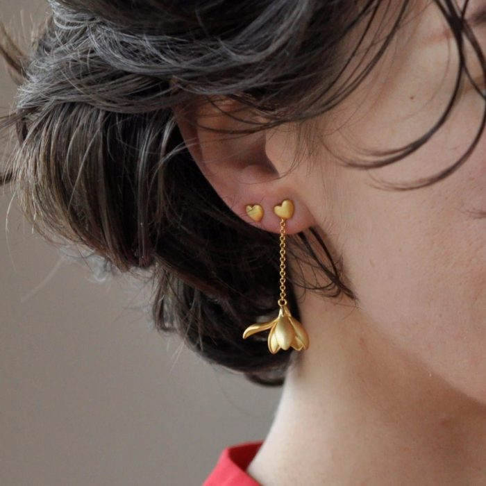 A.Brask - Snowdrop chain earring - Earring