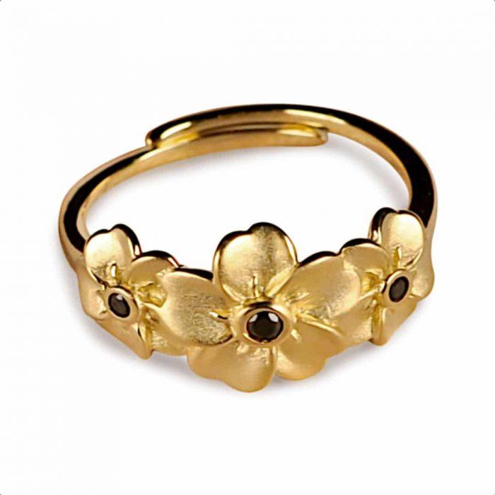 A.Brash - Forget-me-not adjustable ring - Ring