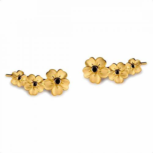 A.Brask - Forget-me-not earrings - Earring