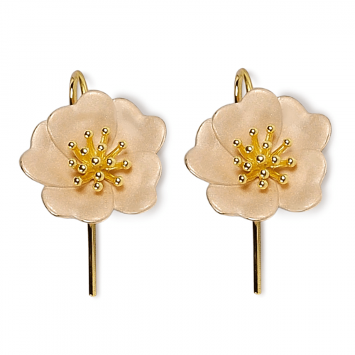 A.Brask - Wild rose earrings - Earring