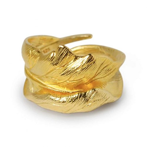 A.Brash - Oak leaf adjustable ring - Ring
