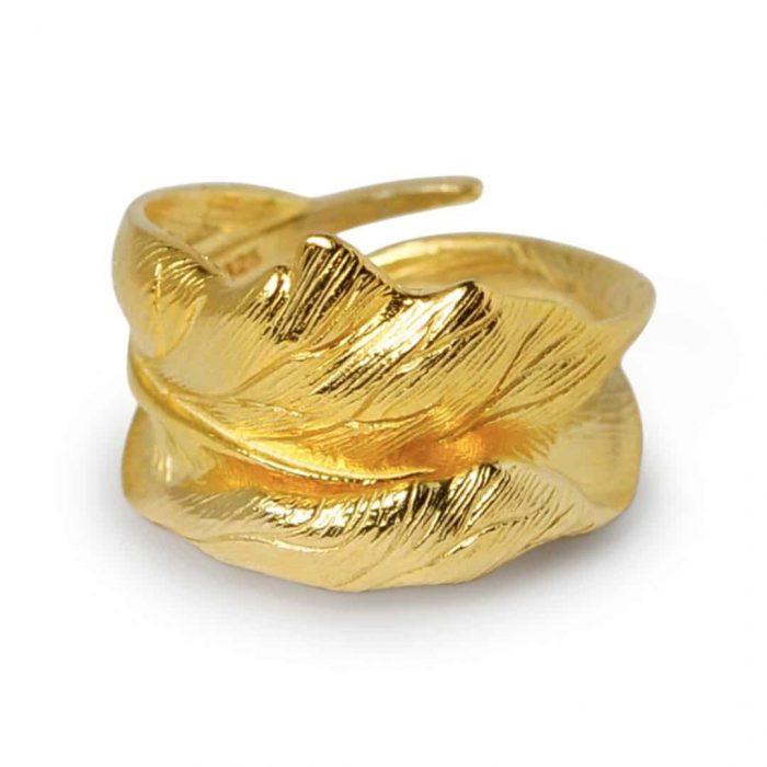 A.Brash - Oak leaf adjustable ring - Ring