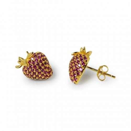 A.Brask - Strawberry earrings - Earring
