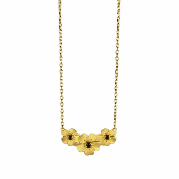 A.Brask - Forget-me-not necklace - Necklace