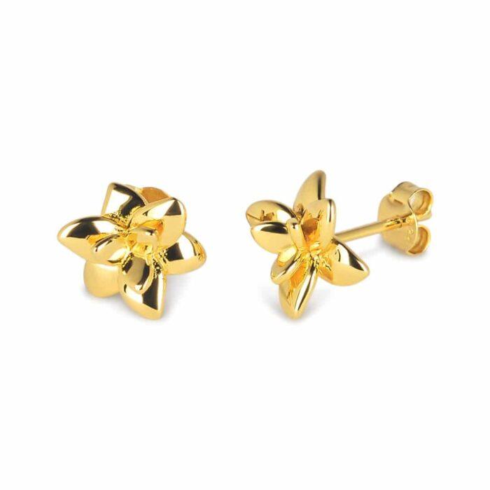 A.Brask - Orchid ear studs - Earring