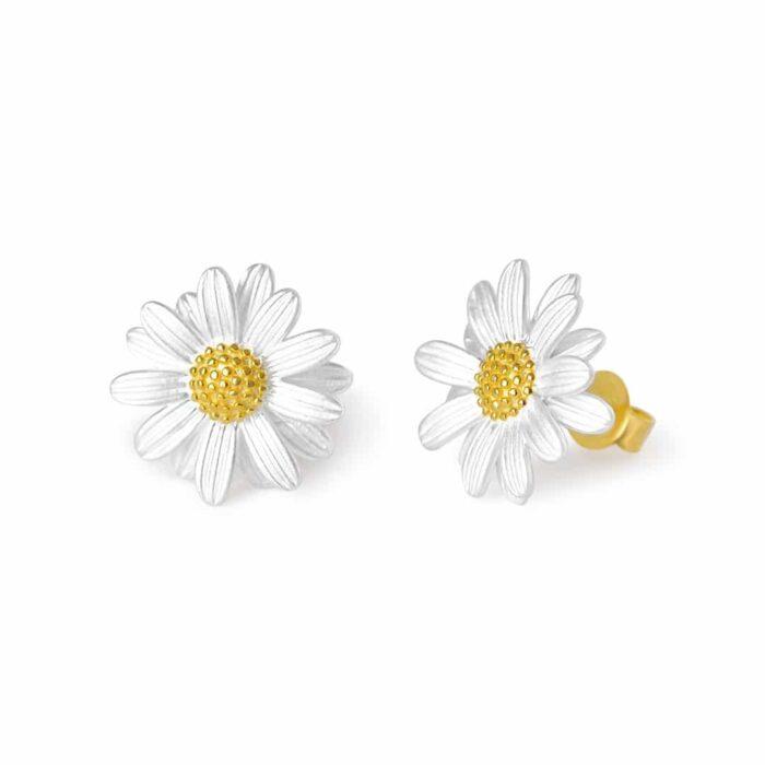 A.Brask - Marguerite ear studs - Earring