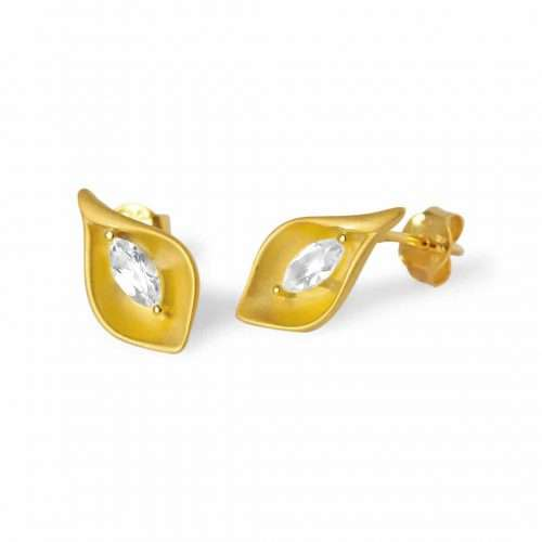 A.Brask - Cold lily ear studs - Earring