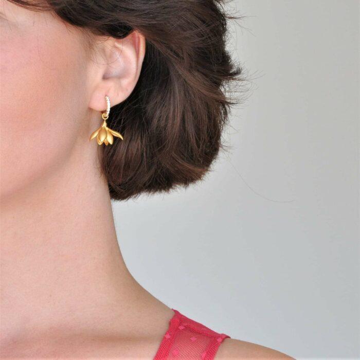 A.Brask - Snowdrop earrings - Earring