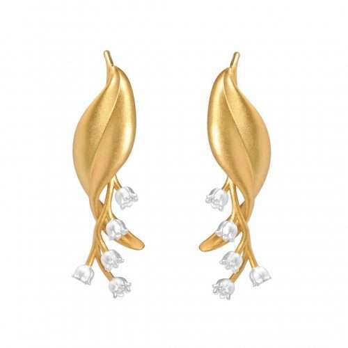 Lily of the valley earrings - A.Brask